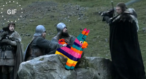 Game of pinatas hold gif